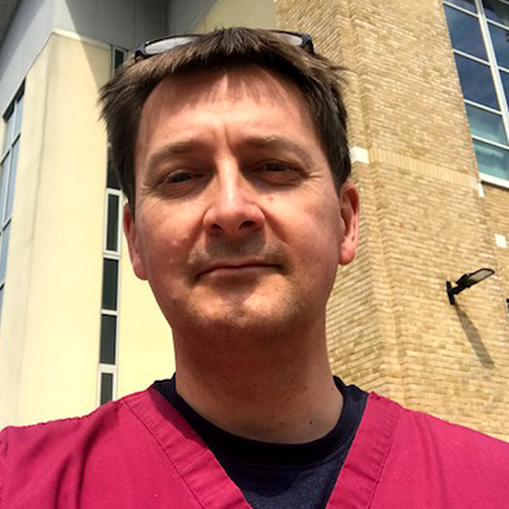 Mark Allendby, Consultant Respiratory Physician
